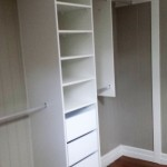 Drawers And Shelving/White