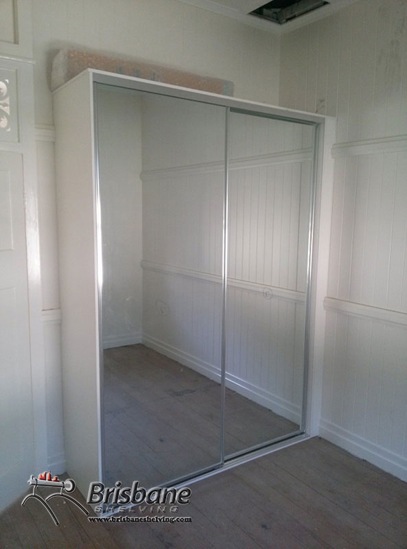 built in wardrobe flat pack 2