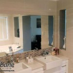 Bathroom With Large Mirror