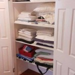 white wardrobe shelves