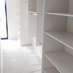 White Shelving Wardrobe