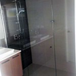 Grey Frameless Showerscreens