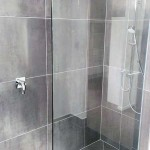 Frameless Showerscreen Brisbane Shelving