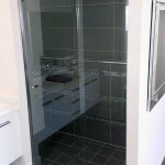 Grey Framed Showerscreen