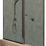Pivot Semi-framed Showerscreen