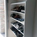 garage shoe shelving