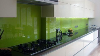 Green Splashbacks